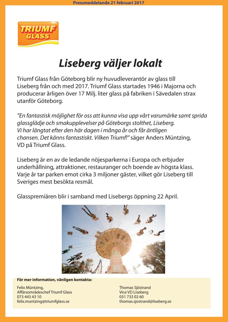 Liseberg väljer lokalt