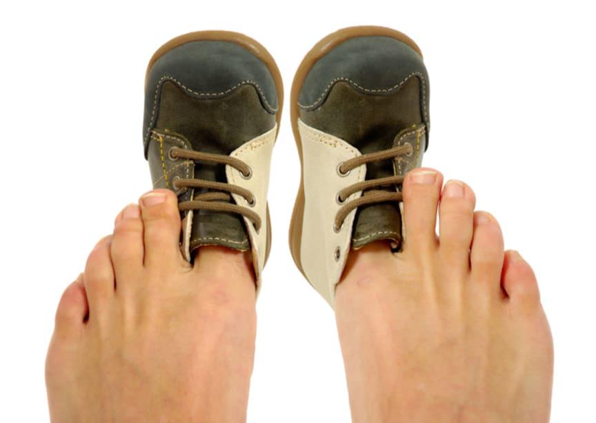 Druckstellen und Geschwüre vermeiden: Ursache ist oft falsches Schuhwerk