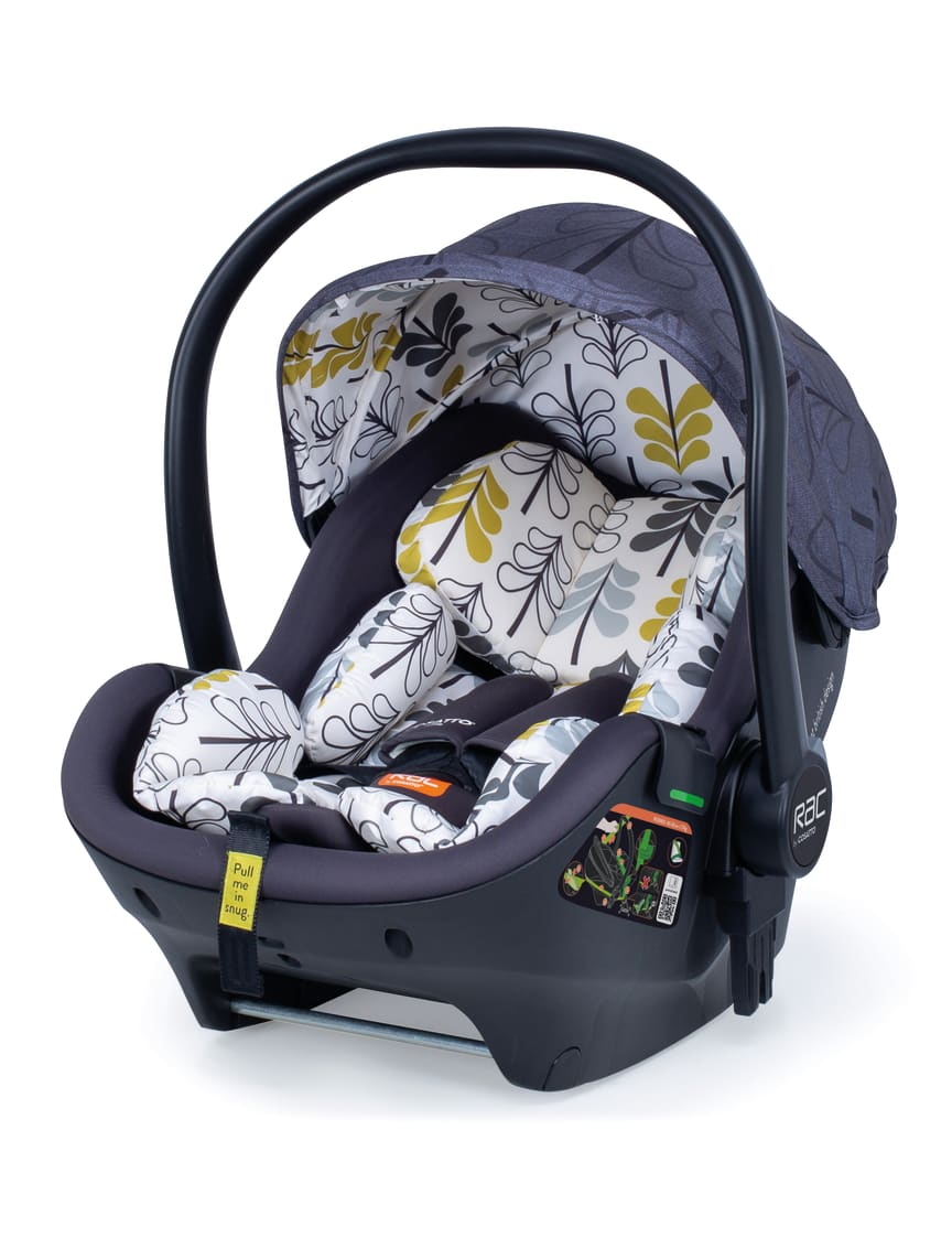 RAC Port i-size car seat - Fika Forest design