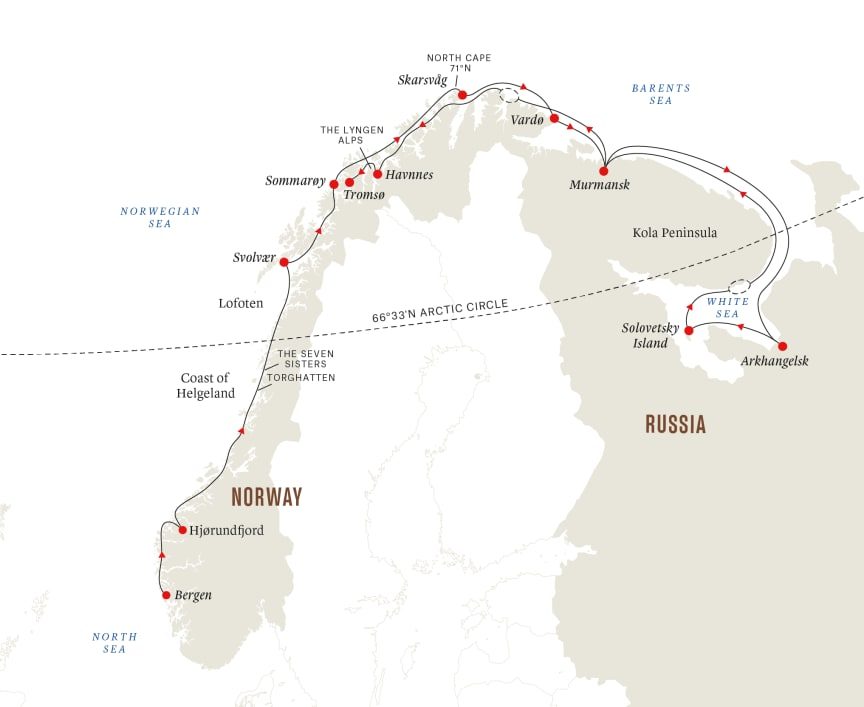 Route map, White Sea Russia sailing.png
