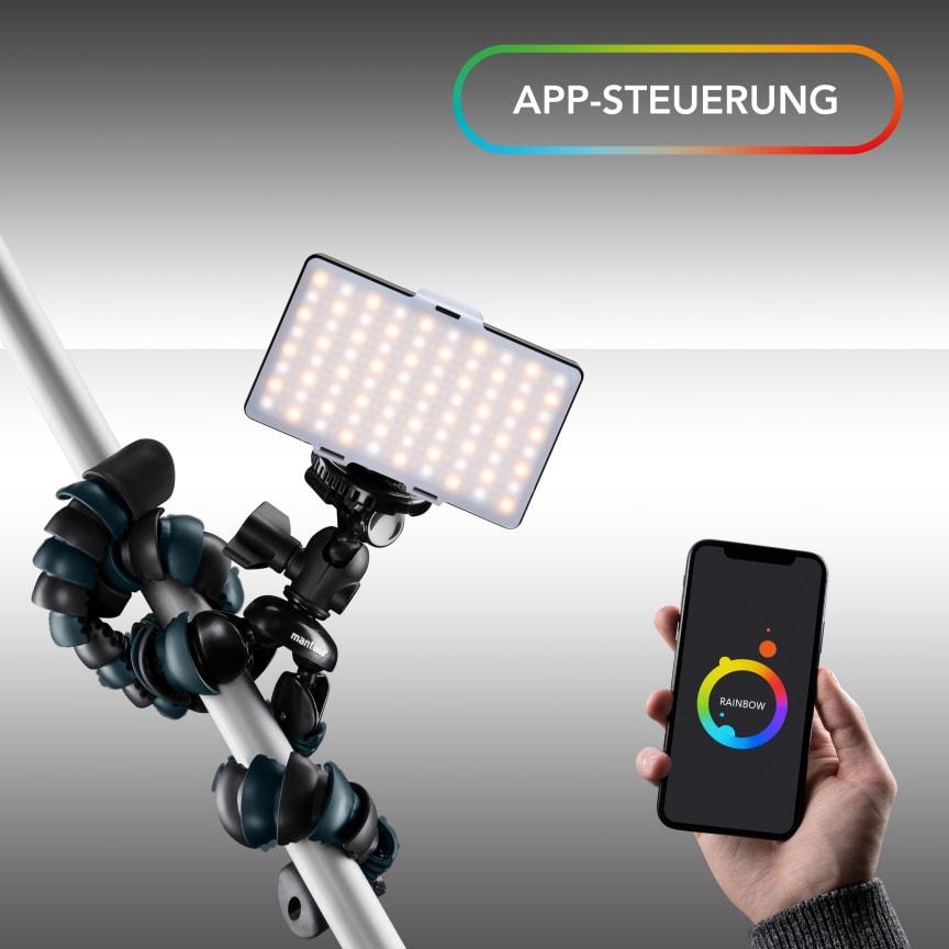 Walimex pro Rainbow Pocket RGBWW 23036 10 App