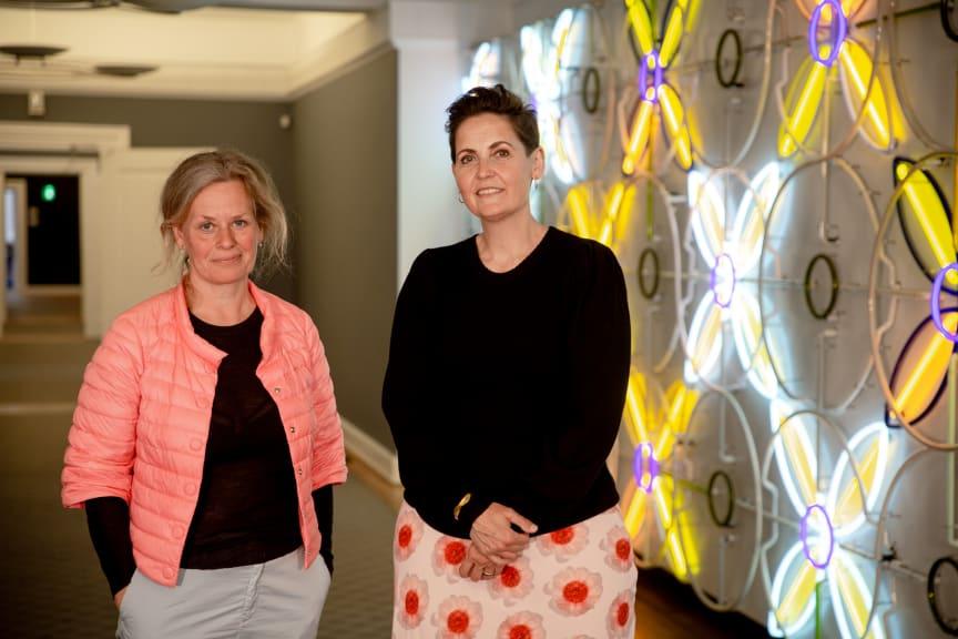 Astrid Krogh og Pia Olsen Dyhr