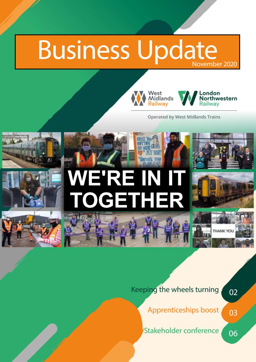 West Midlands Trains Business Update - November 2020