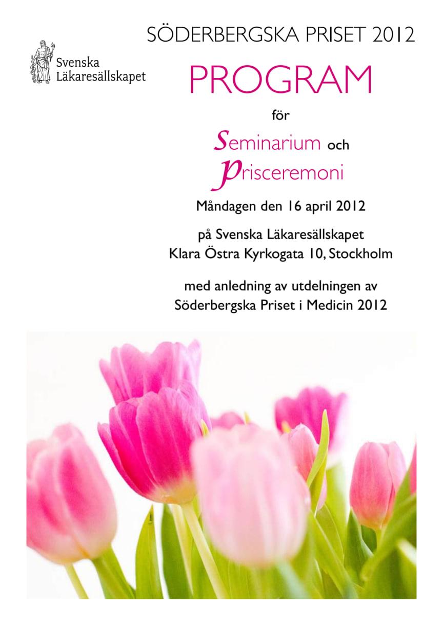Program för seminariet ESSENCE (Early Symptomatic Syndromes Eliciting Neurodevelopmental Clinical Examinations)