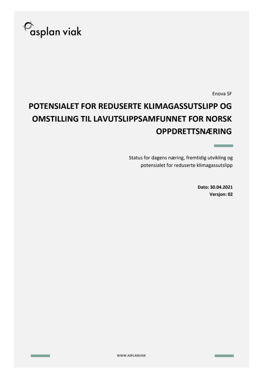 Energi- og klimakartlegging havbruk_210520