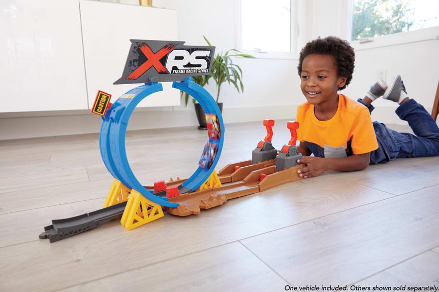 Xtreme Racing Serie Crash-Looping Spielset
