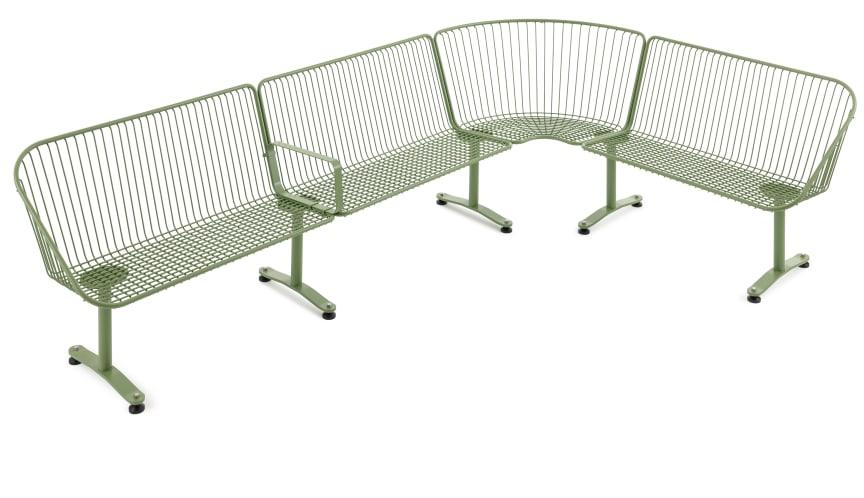 Korg möbelsystem, design Thomas Bernstrand