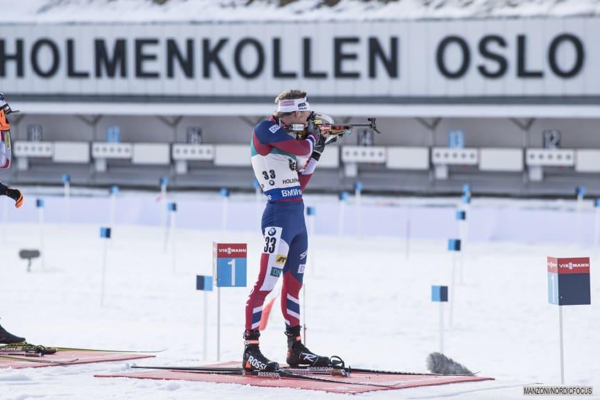 Henrik skyting Holmenkollen