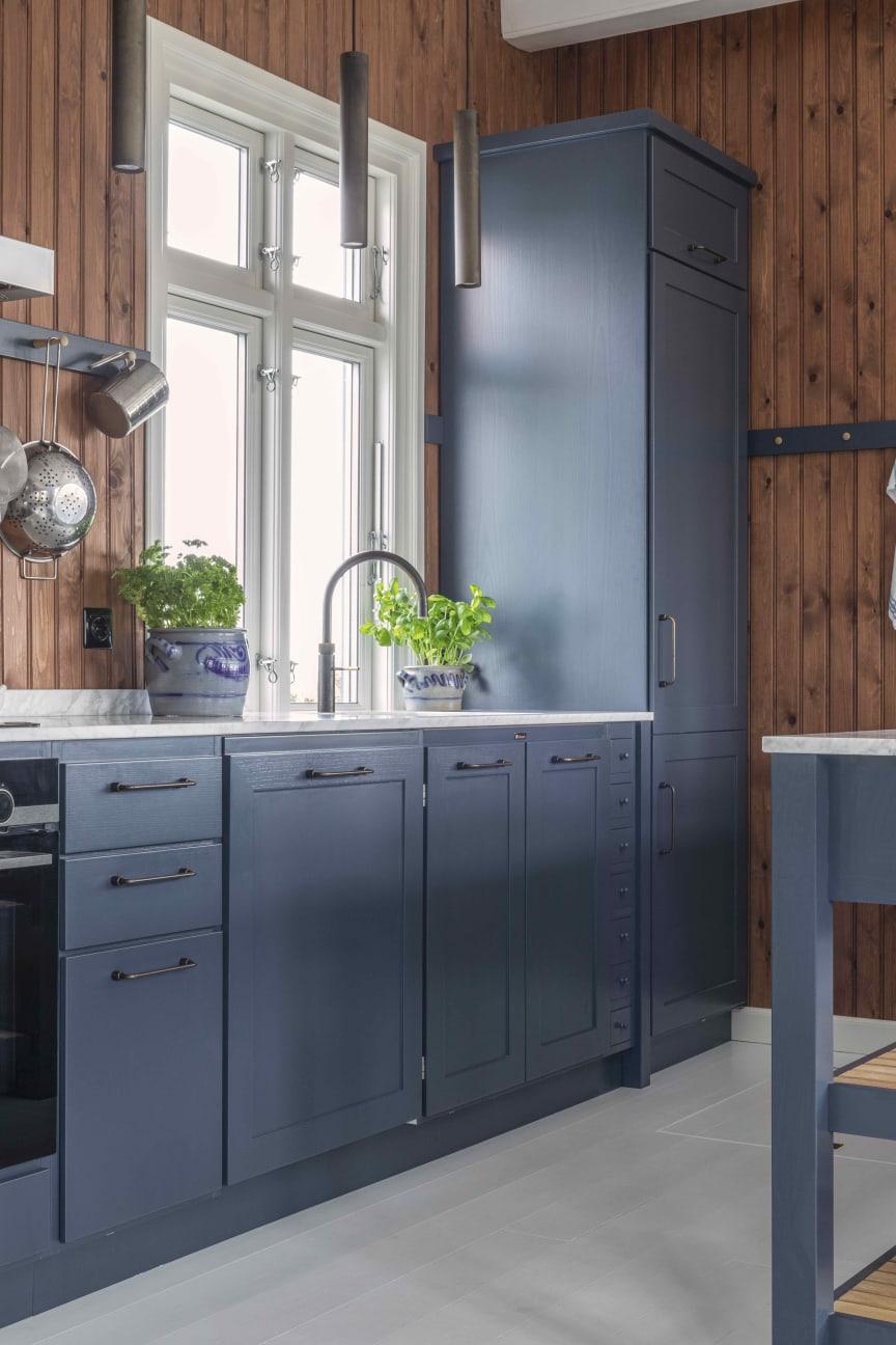 HAV - blå køkken