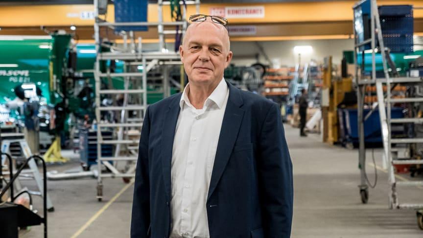 VD, Lars Henriksen SAMSON AGRO