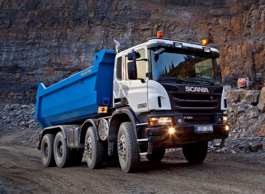 Scanias testlastbil vid namn Astator. Foto: Scania Group.
