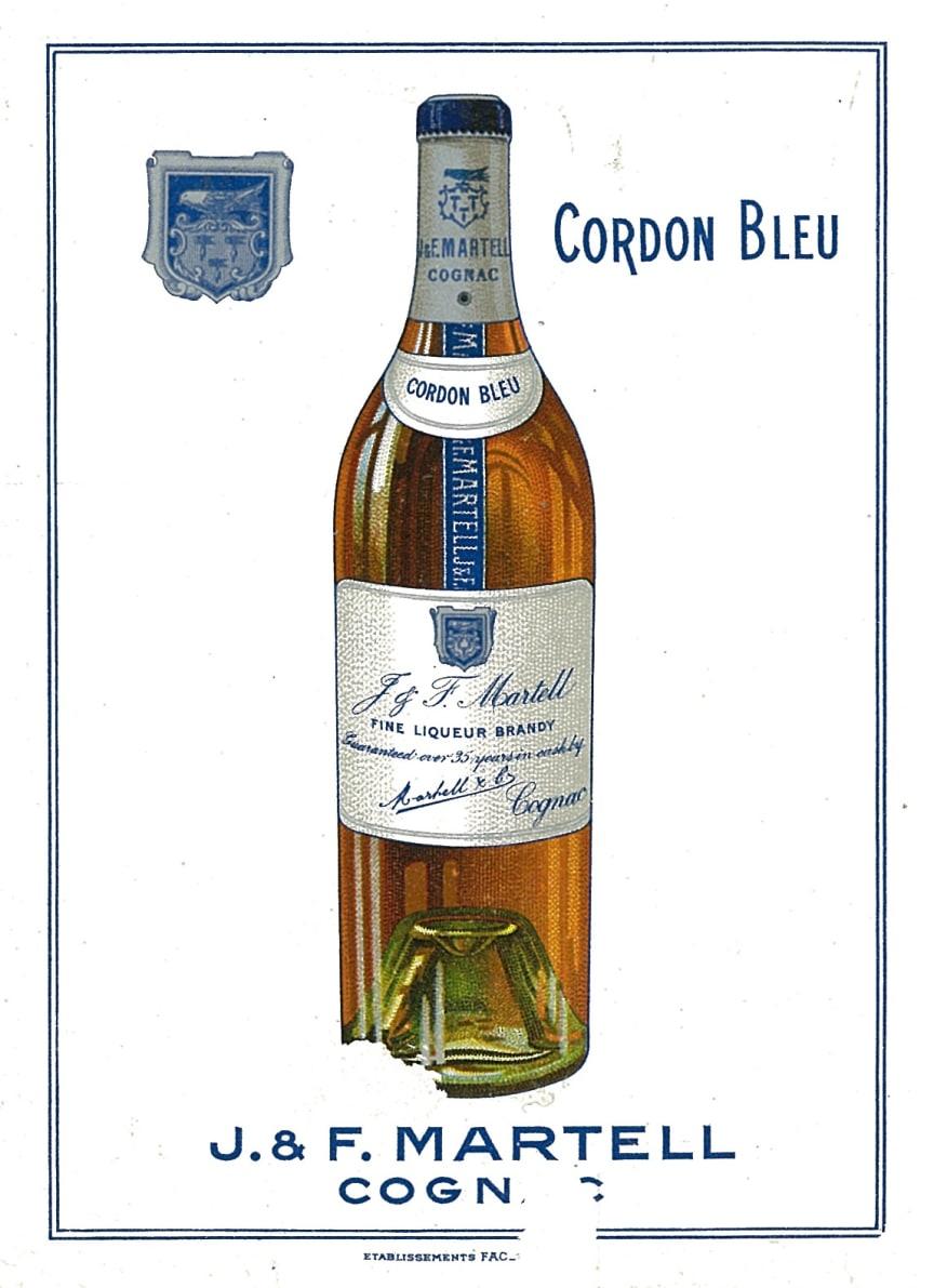 Cordon Bleu annonse fra 1912