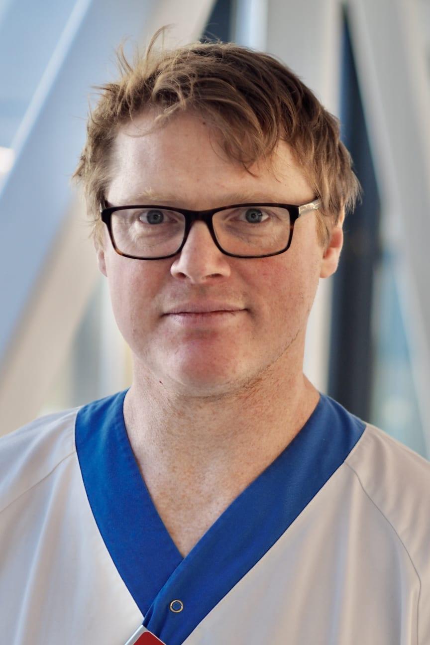 Kasper Andersen, forskare vid institutionen för medicinska vetenskaper vid Uppsala universitet