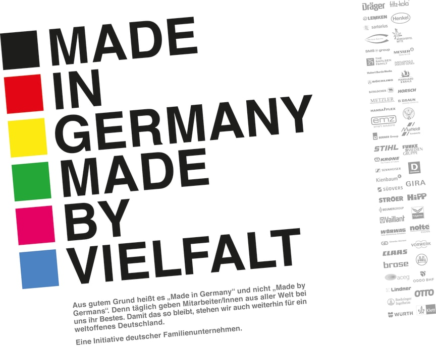 """Advertising initiative by family-owned companies """"Made in Germany"""""""