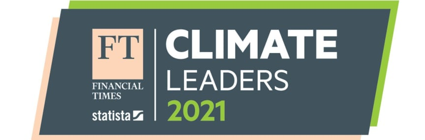 Financial Times Climate leaders 2021