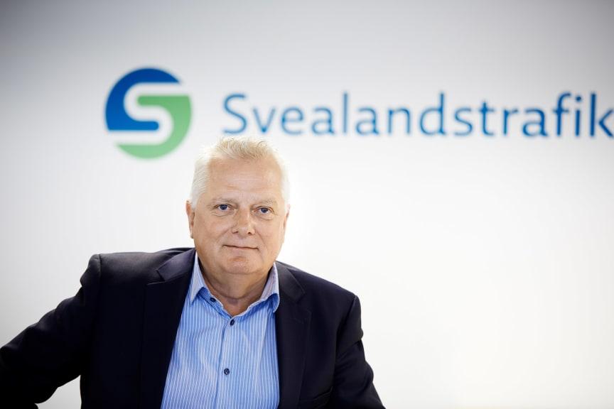 Peter Beckman Produktionschef Svealandstrafiken AB