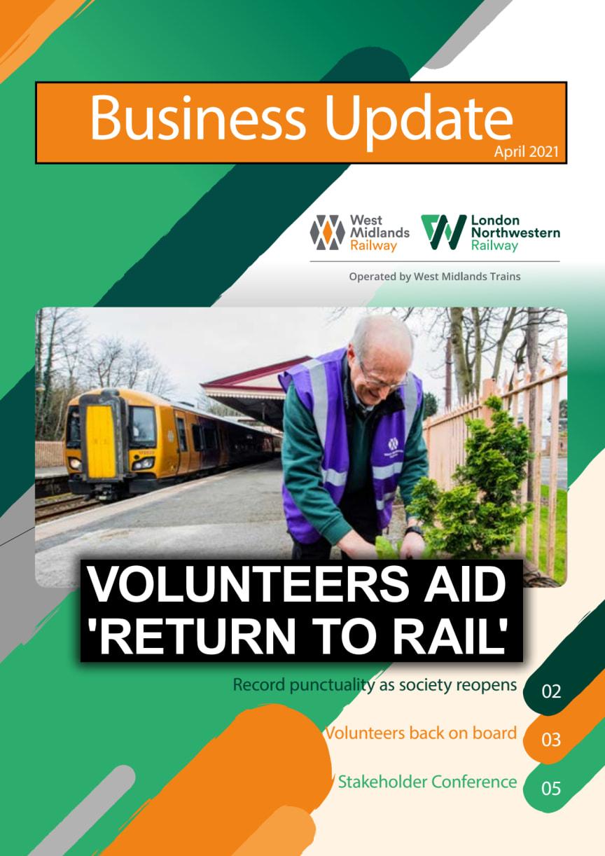 West Midlands Trains Business Update - April 2021