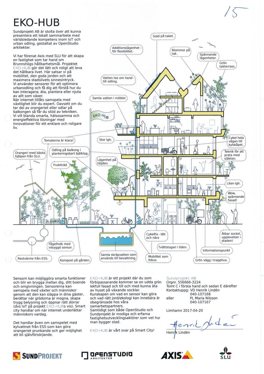 Vinnaranbuden Etapp 1 centrala Brunnshög