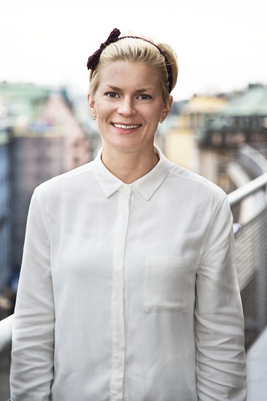 Elin Moritz, marknadschef DIBS Sverige