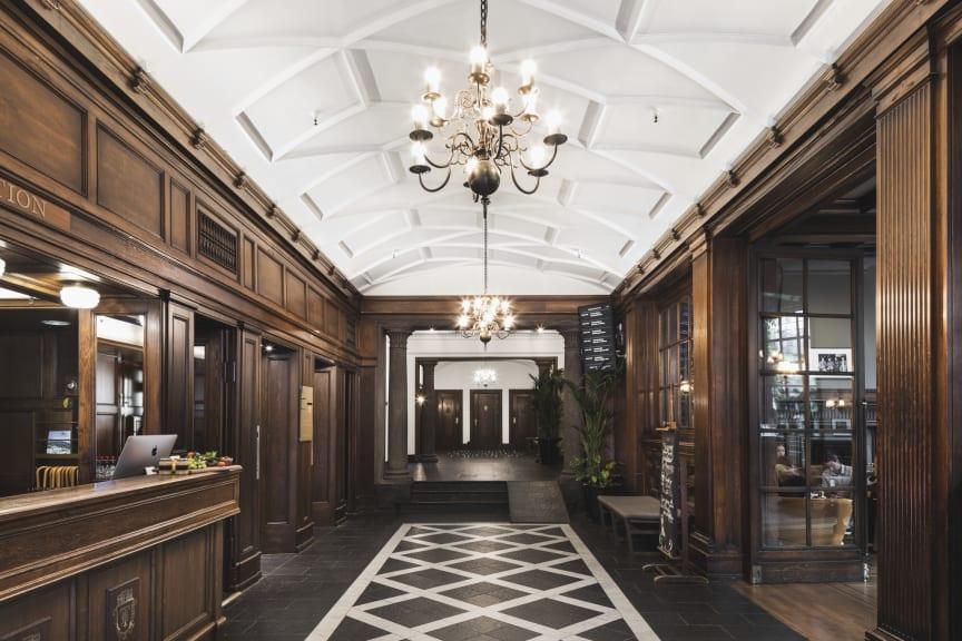 Grand Hotel Terminus, Lobby/Front desk