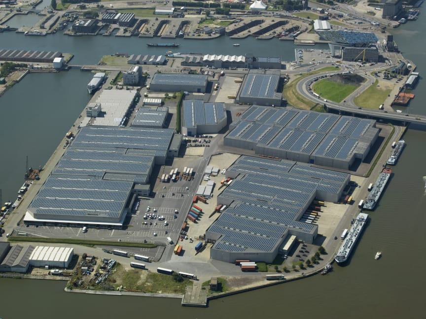 Panalpina's Port of Antwerp facility