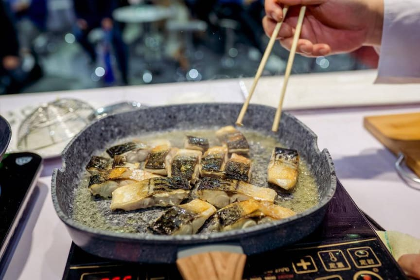 Norsk makrell på kinesisk vis