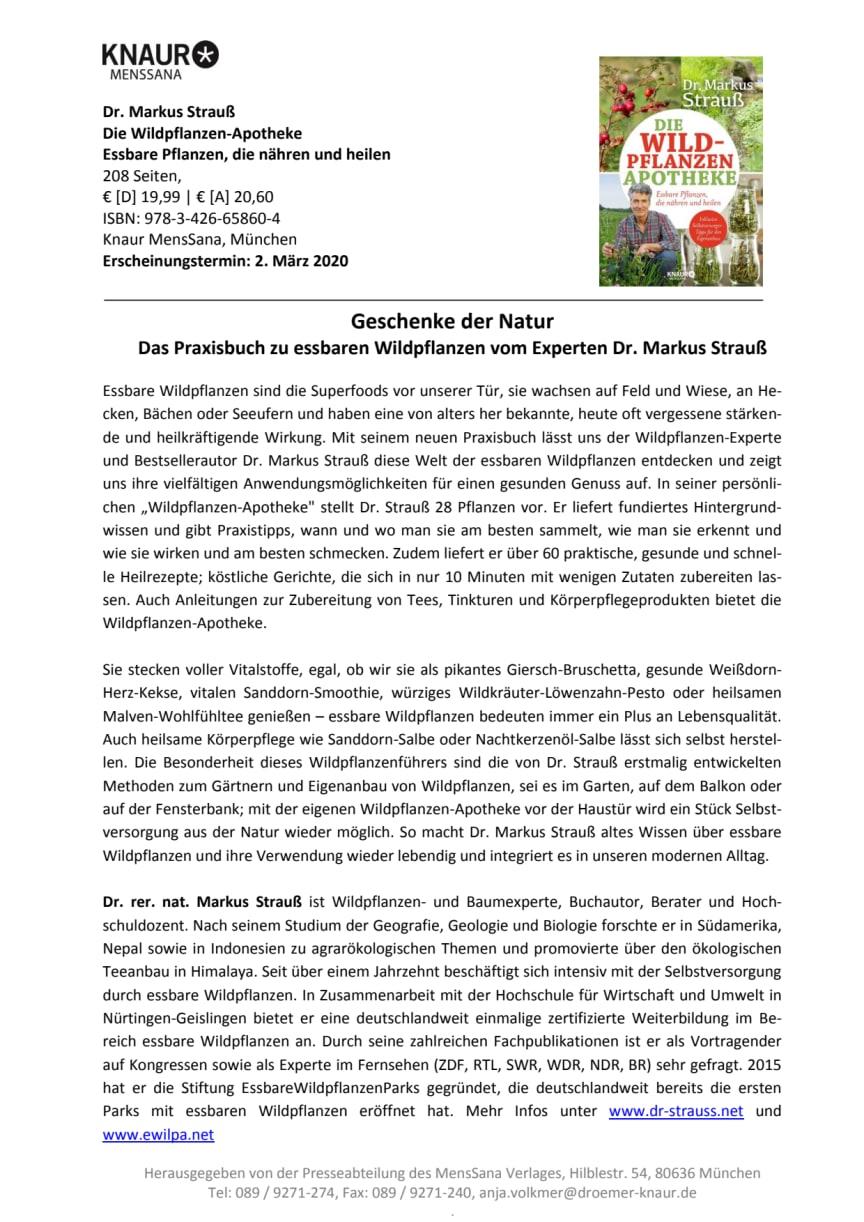 Pressemitteilung_Strauß_Wildpflanzen-Apotheke
