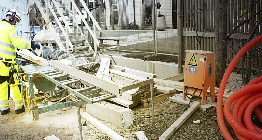 Byggeplass, 3D