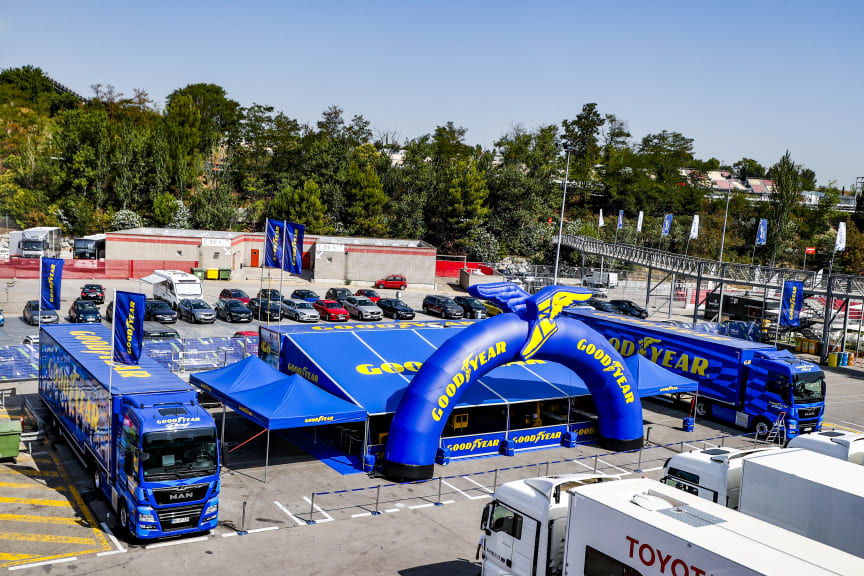 Goodyear has been testing around the world - PROLOGUE WEC 2019 BARCELONA 23-24 JULY Photo Clement MARIN