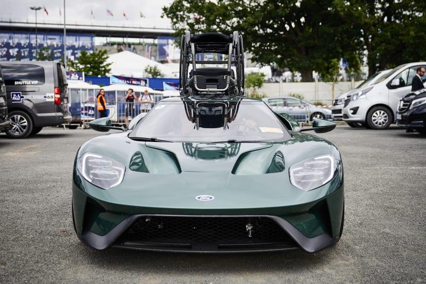 Jason Watt & Ford GT wheelchair4