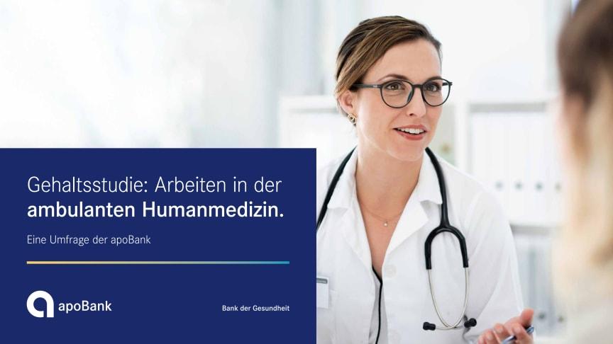 Grafiken zu apoBank-Umfrage: Arbeiten in der ambulanten Humanmedizin