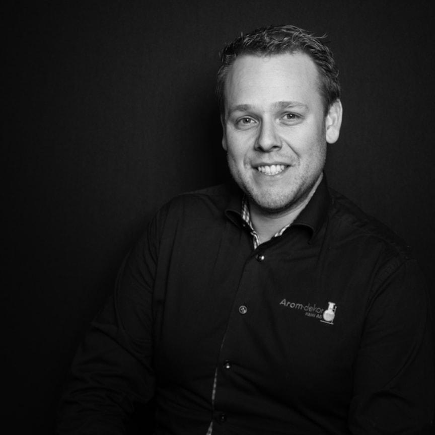 Arom-dekor kemi Jim Lingman, Sales Manager, Norway