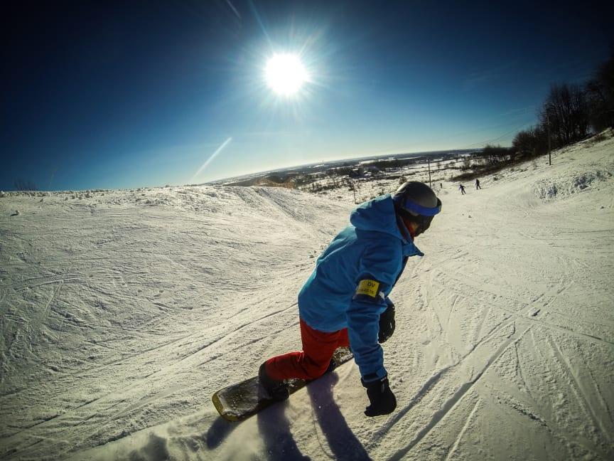 Falköping på snowboard