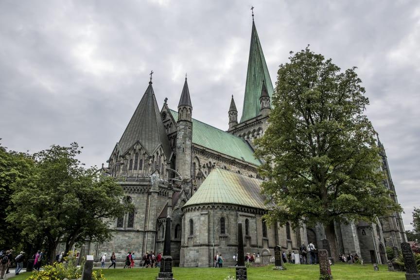 Nidarosdomen i Trondheim