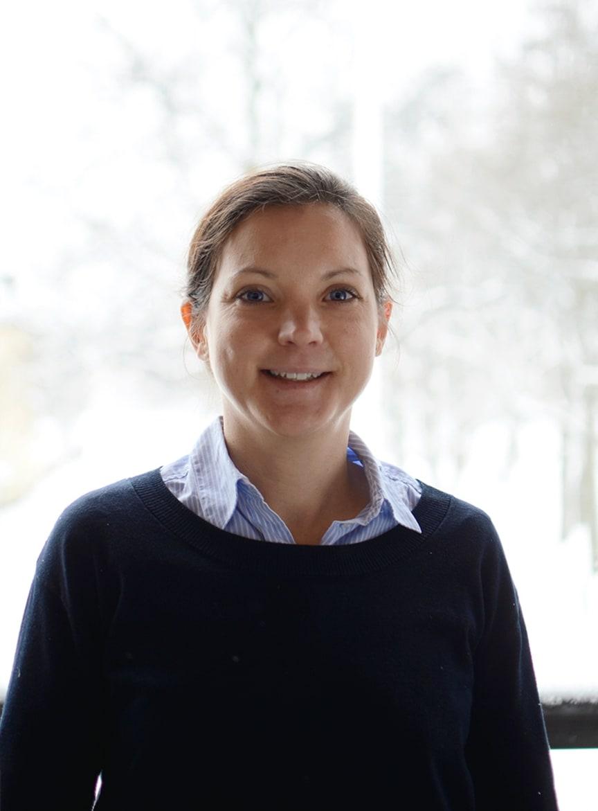 Johanna Larsson (M), ordförande i kultur- och fritidsnämnden