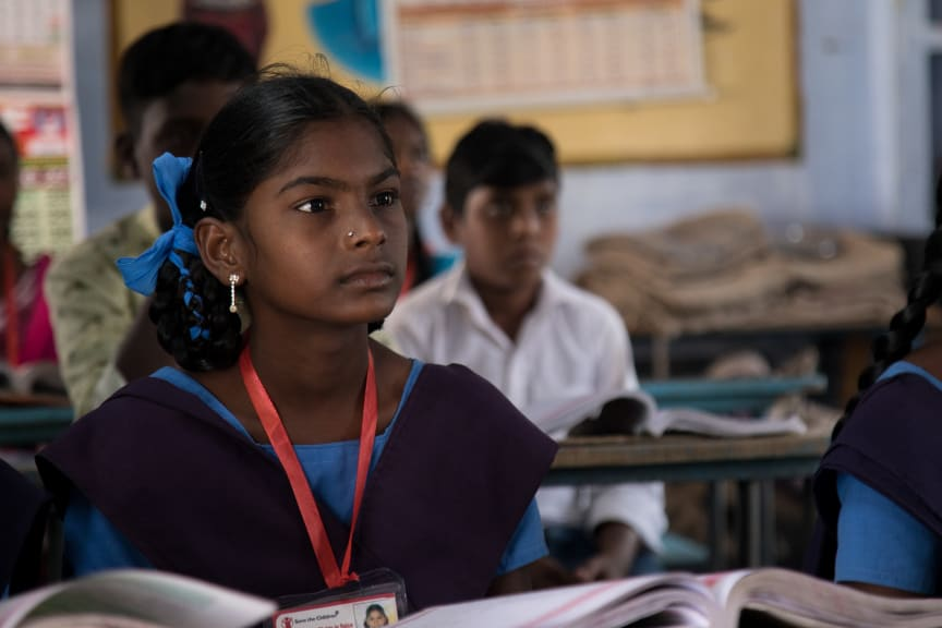 Paulig's and Save the Children's project in India