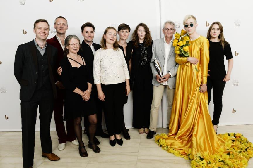 Årets Børne- / Ungdomsforestilling 2016 går til Det Lille Teaters sanseteaterforestilling 'Citroner i Vand'.