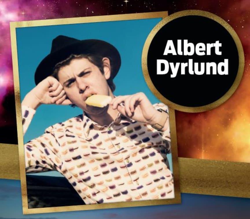 Albert Dyrlund til Åbent Hus