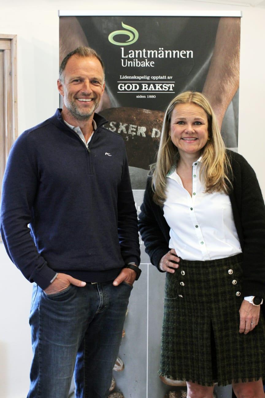 Tom Stiansen og Aina Hagen på Unibakedagen 2019