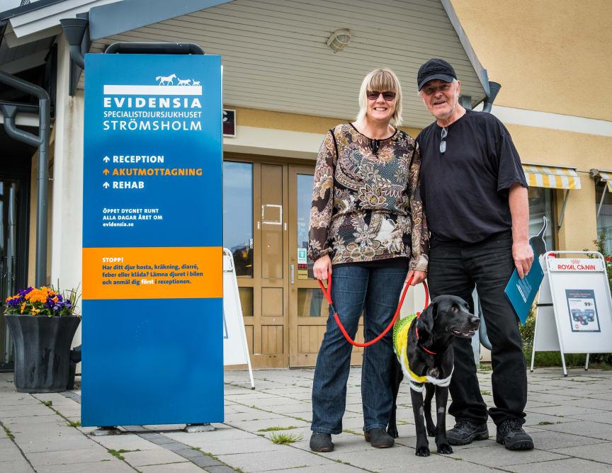 Mona Tunborg, Lars Nylén och Wixa