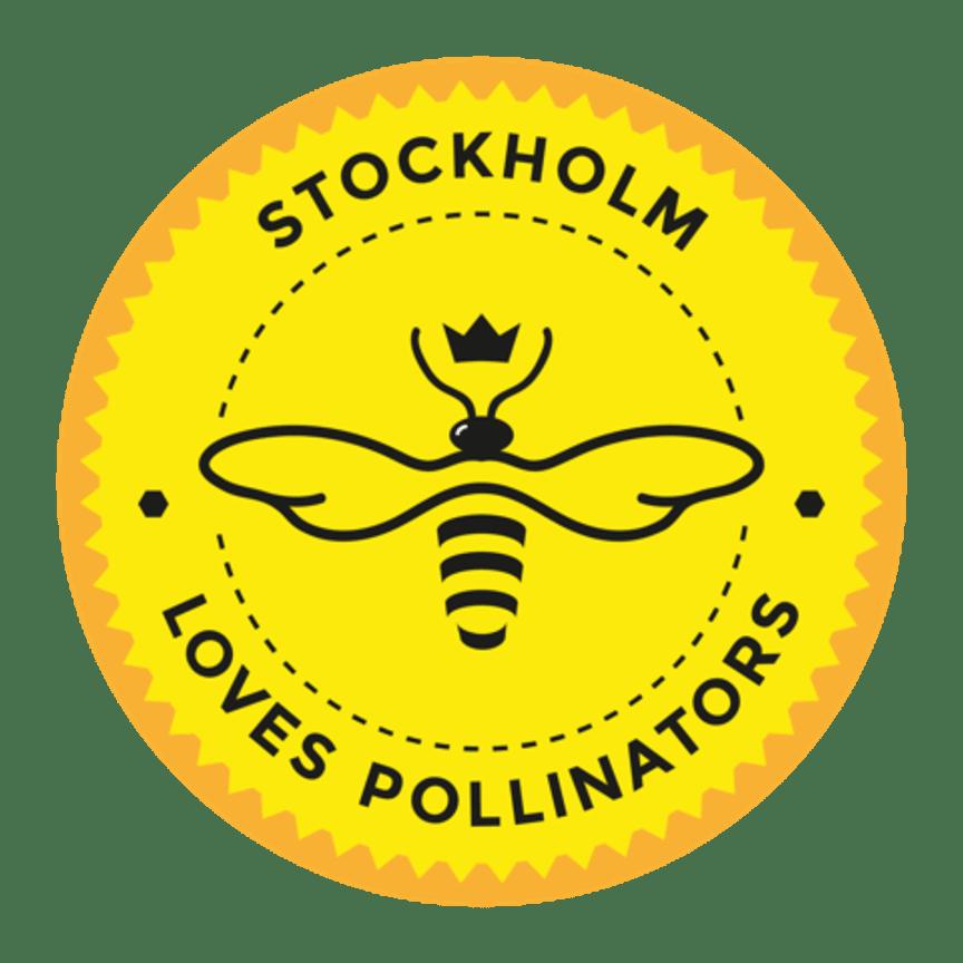 Stockholm Loves Pollinators Badge