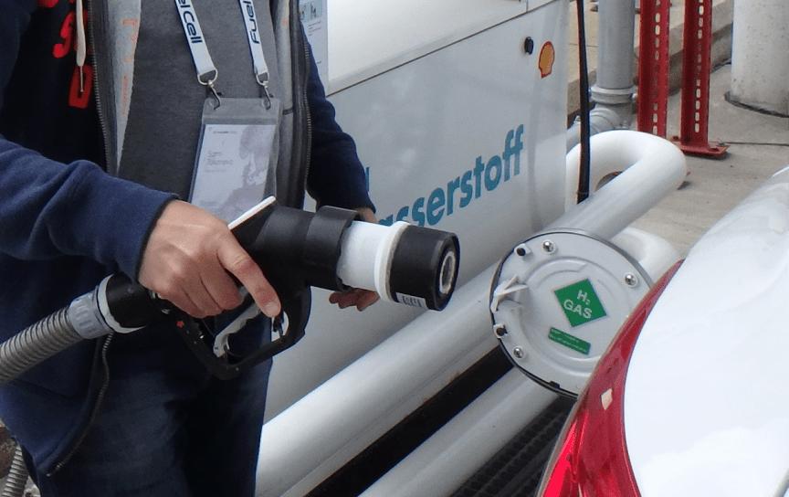 Påfylling hydrogen Hamburg