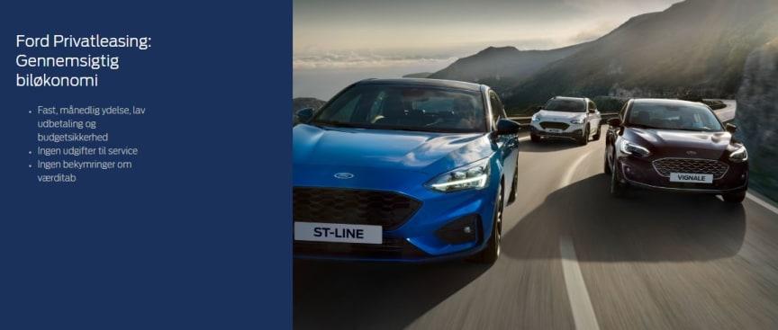 Ford Focus Privatleasing