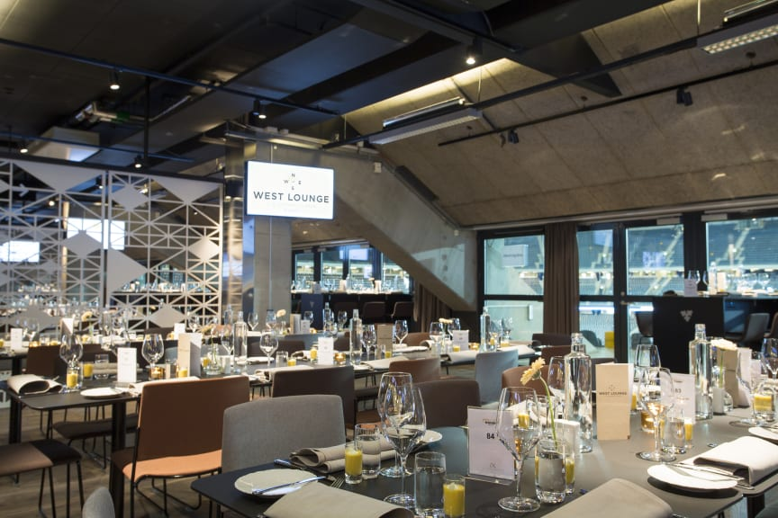 Friends Arena - West Lounge