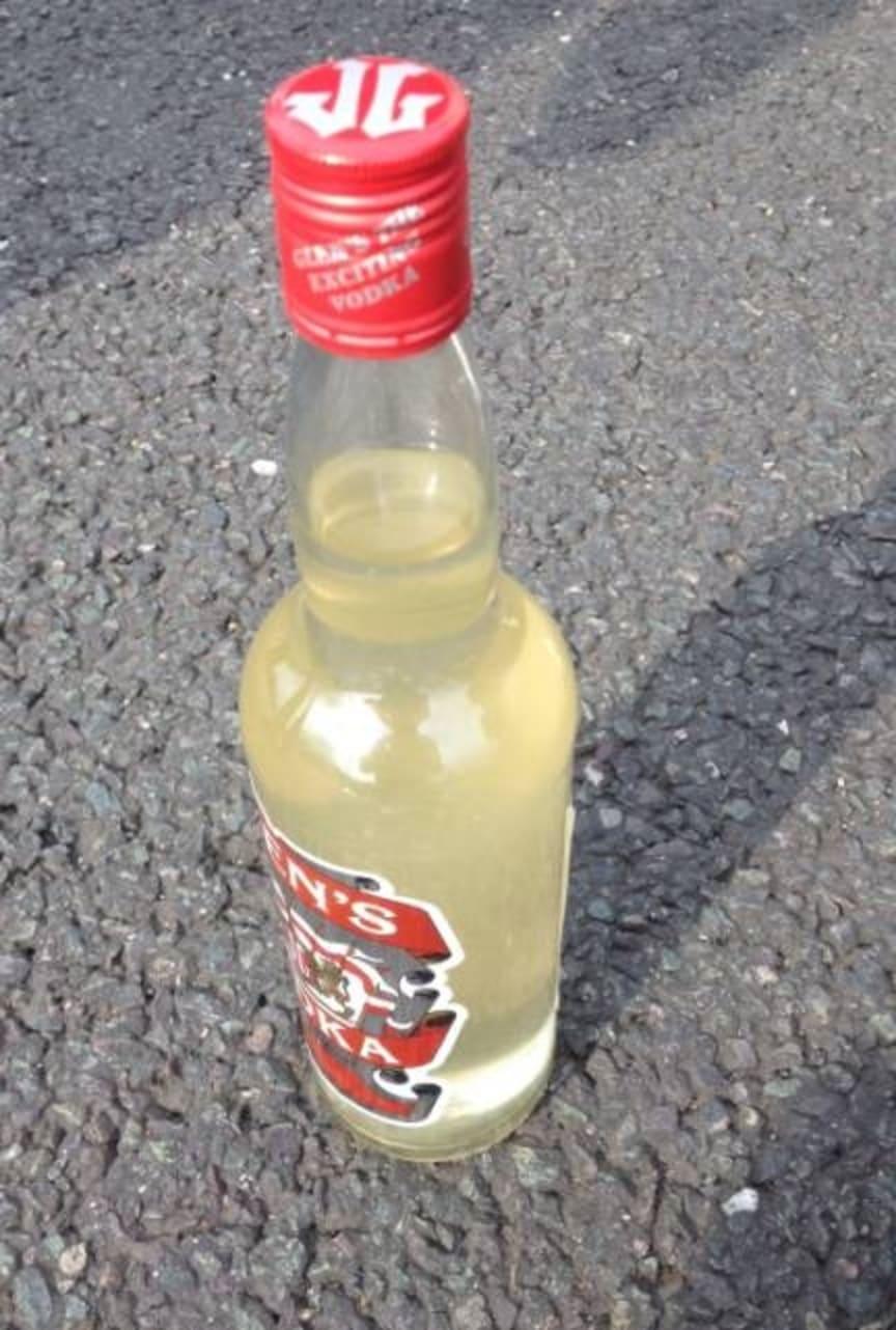 EM 19.14 Suspected counterfeit vodka