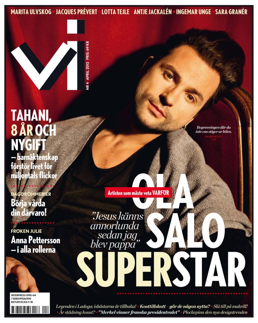 Omslag Tidningen Vi nr 4 2012