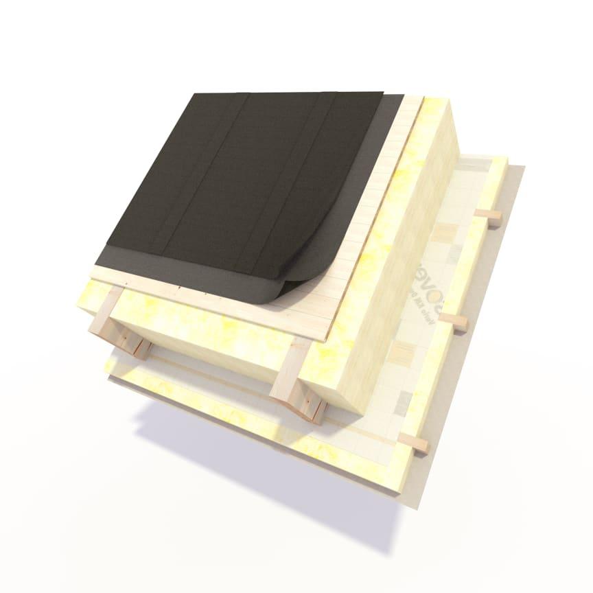 Kompakta tak med ISOVER Vario KM Duplex UV