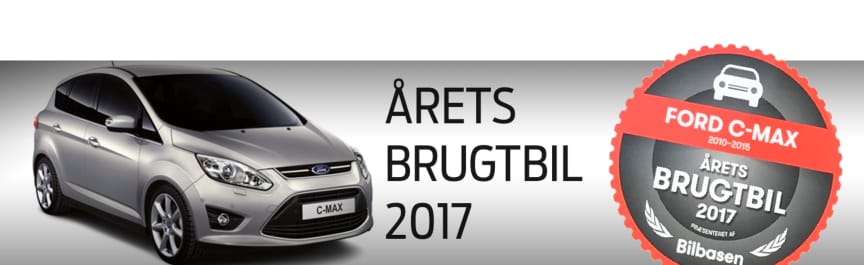 Ford C-MAX - Årets Brugtbil 2017