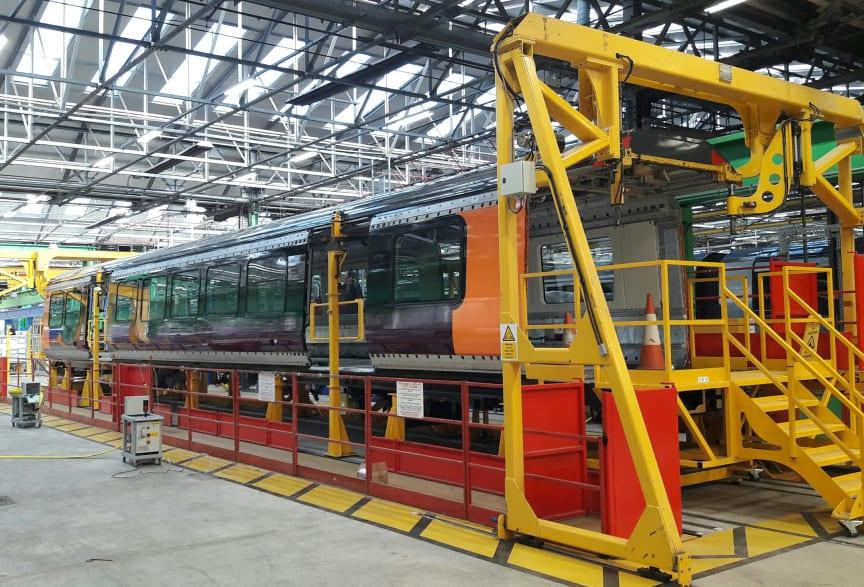 West Midlands Railway - Class 730 - Bombardier production line