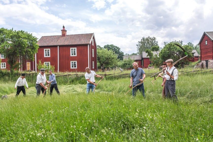 Kurs i lieslåtter Stensjö by